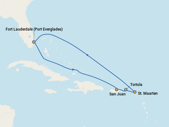 Cheap Tortola Cruises 2019 Compare Deals On Cruises To
