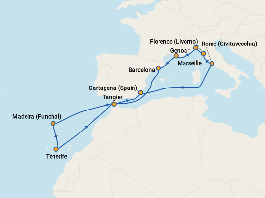 Cheap Tenerife Cruises 2019 Compare Deals On Cruises To