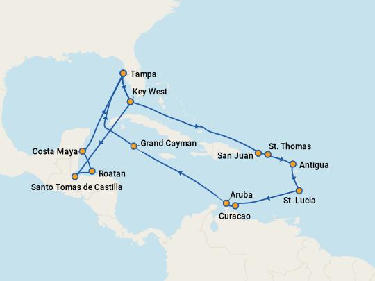 Cheap Aruba Cruises 2019 Compare Deals On Cruises To